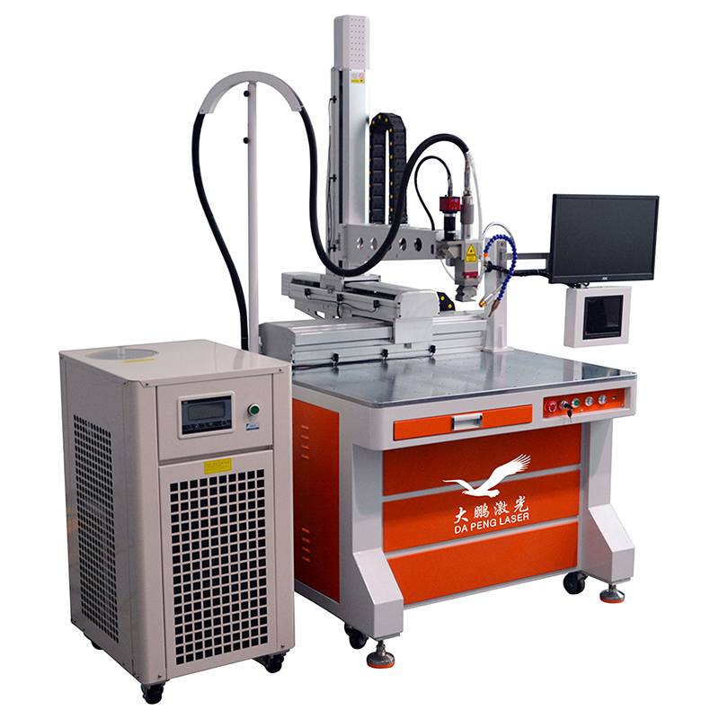 Fiber laser welding machine for steel