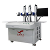Three Heads Laser Marking Machine 20W 30W 50W