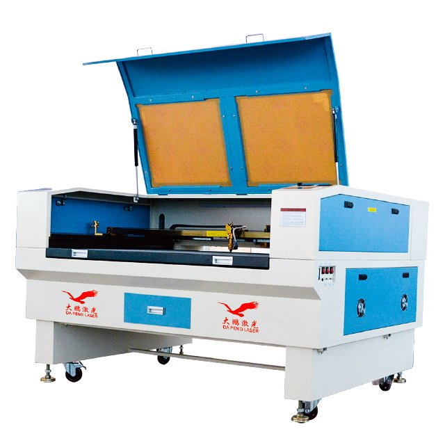 Glass Tube C02 Laser Cutting Machine