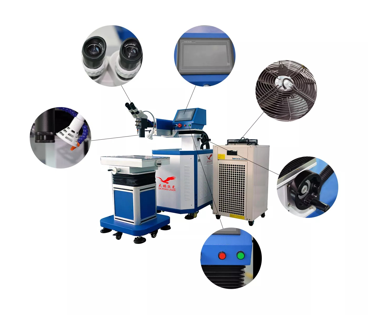 Hardware mold repair laser welding machine special price 200W